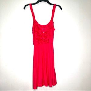Abercrombie & Fitch Bright Pink Sleeveless Dress